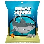 Gummy Sharks Peg Bags - 12ct