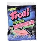 Gummy Sour Watermelon Sharks Peg Bags - 12ct