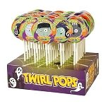Halloween Twirl Pops - 48ct