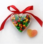 Heart Shaped Candy Box - 24ct