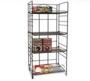 Heavy Duty Adjustable SHELVING Rack - 4 Shelves