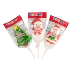 Holiday Shaped Lollipops - 12ct