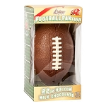 Hollow Milk Chocolate Football - 4ct