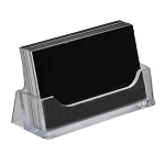 Horizontal Business Card Display - 10ct
