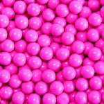 Single Color Sixlets - Hot Pink - 12lbs