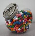 1/2 Gallon Acrylic Penny Candy Jars - 6ct