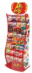 Jelly Belly Wave Rack w/ 252 Peg Bags
