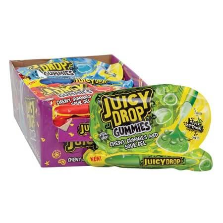 Juicy Drop Gummies Sour Gel Candy Juicy Drop Candy Sour