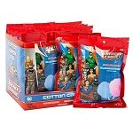 Justice League Cotton Candy Peg Bag - 12ct