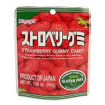 Kasugai Gummy Strawberry Peg Bags - 12ct