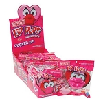Valentines Kissy Lip Pops - 24ct