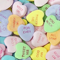 Large Motto Hearts - 10lbs