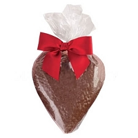 Large Solid Milk Chocolate Heart - 12ct