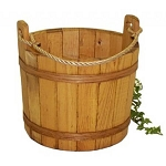 Large Stained Buckets - 2ct