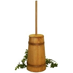 Large Stained Butter Churn