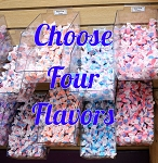 Salt Water Taffy - Select 4 Flavors