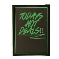 LED Backlit Writing Board with Marker
