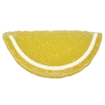 Lemon Jelly Fruit Slices - 10lbs