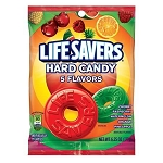 Lifesavers 5 Flavor Peg Bags - 12ct