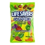 Lifesavers Sour Gummies Peg Bag - 12ct