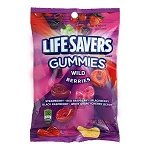 Lifesavers Wild Berries Gummies Peg Bag - 12ct