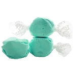 Light Blue Salt Water Taffy- Cello Wrapped - 5lbs