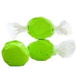Light Green Salt Water Taffy- Cello Wrapped - 5lbs