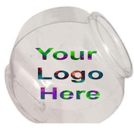 Logo 1 2 Gallon Cookie Jar Fish Bowl Plastic