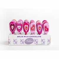 Foil Valentine Chocolate Pops - 36ct