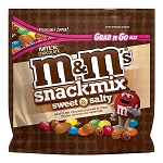 M&Ms Chocolate Snack Mix Peg Bag - 8ct