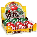 M&M Milk Chocolate Tin Ornament - 12ct