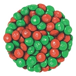 Plain M&M Christmas Mix - 2.6lbs