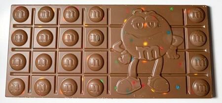 M M Milk Chocolate Bar Mini M M S Candy Bar Crunchy Bar