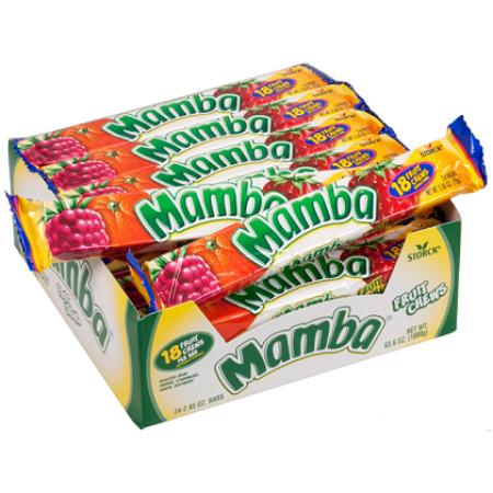 Mamba Original Bar Storck Fruit Chews Impulse Wrapped