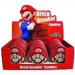 Mario Brick Breaking Candy Tins - 18ct