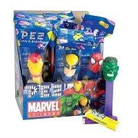 Marvel Heroes Assorted PEZ Dispensers - 12ct