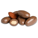 Milk Chocolate Almonds - 10lbs