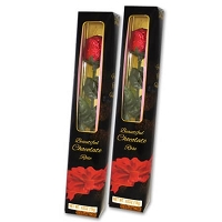 Milk Chocolate Boxed Rose - 24ct
