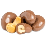 Milk Chocolate Cashews - 10lbs