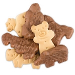Milk Chocolate Covered Animal Crackers - 10lbs
