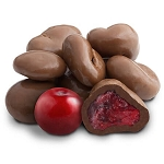 Milk Chocolate Cranberries - 10lbs