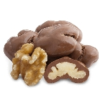 Milk Chocolate Walnuts - 10lbs