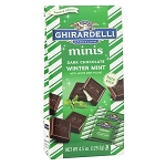 Mini Dark Chocolate Winter Mint Squares - 18ct