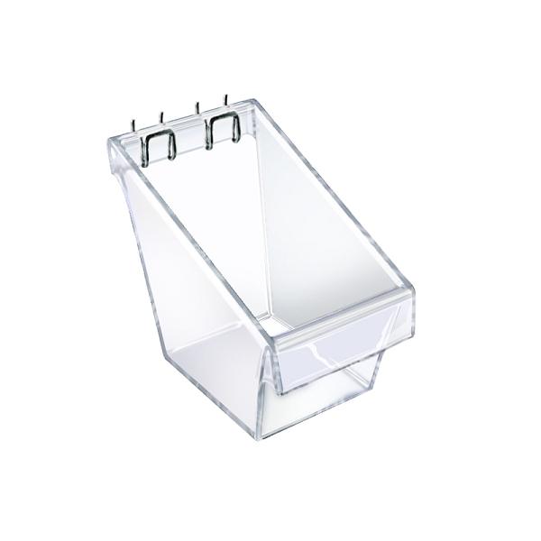 Mini Slatwall Display Bucket - 4ct