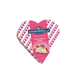 Mini Heart Strawberry Bark Squares - 12ct