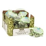 Mini Milk Chocolate Money Bars - 18ct
