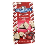 Mini Peppermint Bark Squares - 18ct