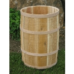 Natural Cedar Whole Barrel - 14
