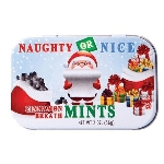 Naughty/Nice Cinnamon Mint Tins - 18ct