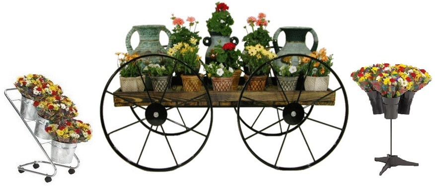 Floral Displays Vases Flower Carts Floral Stands